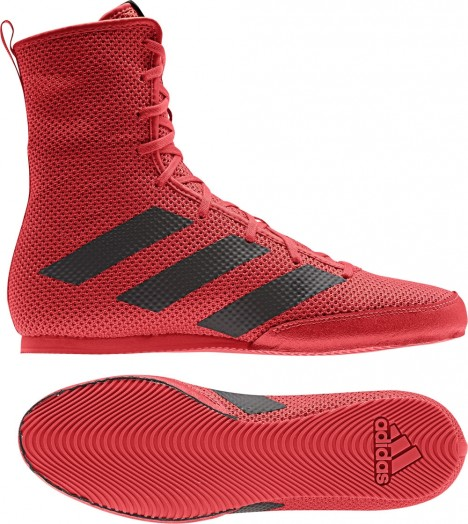 adidas BOX HOG 3 red/black