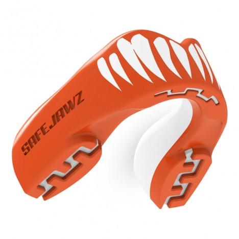 Safejawz Mundschutz Extro-Series Viper Red/White Junior Junior