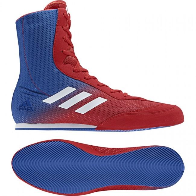 adidas Plus adidas Hog Box Boxschuhe Boxen redblue 80PXwOnk