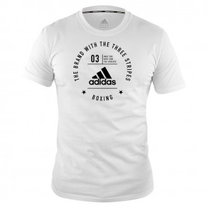 adidas Community T-Shirt Boxing White/Black
