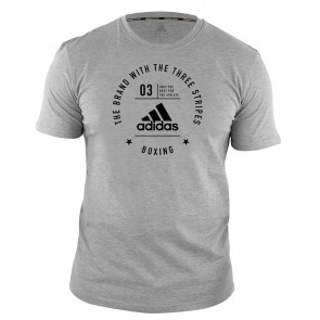adidas Community T-Shirt Boxing Grey/Black