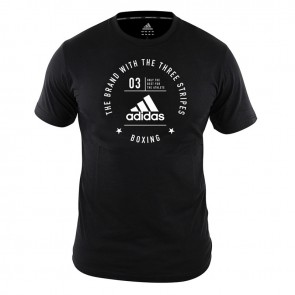 adidas Community T-Shirt Boxing Black/White