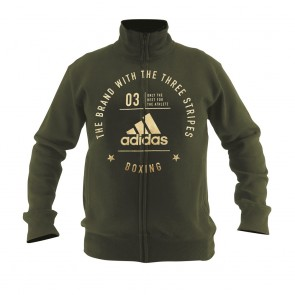 "adidas Community Jacket ""BOXING"" green/gold"