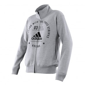 adidas Community Jacket Boxing Grey/Black