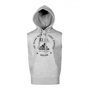 "adidas Community Sleeveless Hoody ""BOXING"" grey/black"
