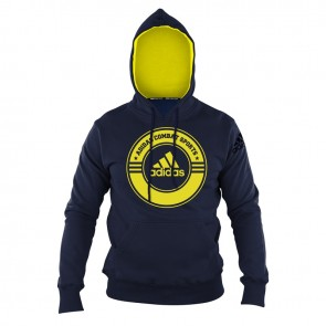 Hoody Combat Sports blue/yellow