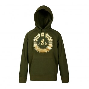 adidas Hoody Combat Sports green/gold