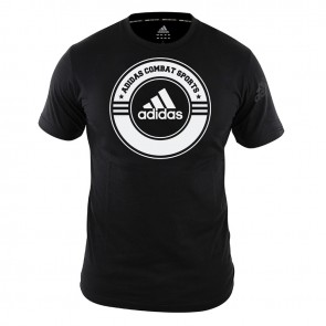 T-Shirt Combat Sports black/white