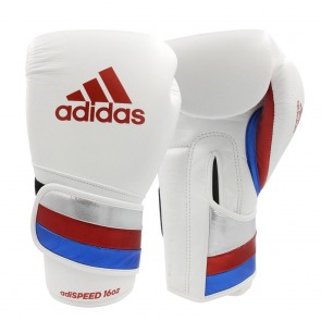 adidas adiSPEED strap up white/red/blue