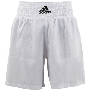 adidas MULTIBOXING SHORT white/black