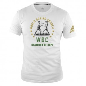 adidas WBC T-Shirt Champ of Hope - white