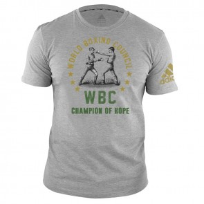 adidas WBC T-Shirt Champ of Hope - grey
