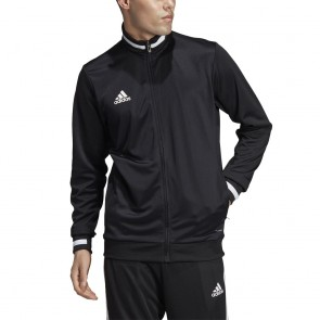 adidas T19 TRK JACKET M BLACK/WHITE