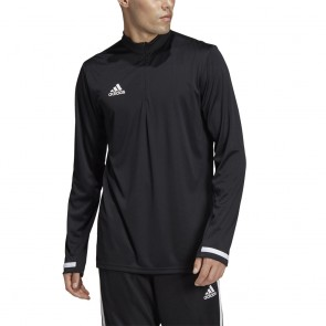 adidas T19 1/4 LONG SLEEVE M BLACK/WHITE