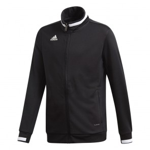 adidas T19 TRK JACKET Y BLACK/WHITE