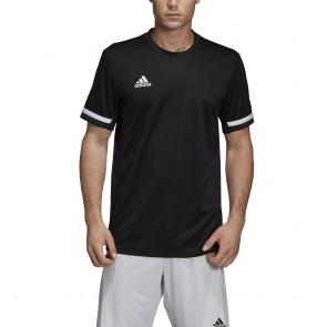 adidas T19 SS JERSEY M BLACK/WHITE