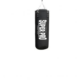 Super Pro Combat Gear Luxury Boxsack PU Vertical Logo black