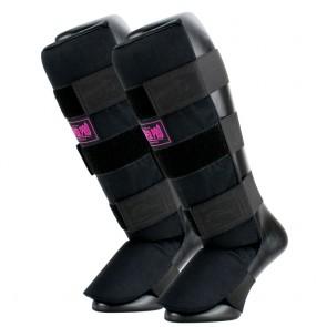 Super Pro Combat Gear Schienbeinschützer Savior black/pink
