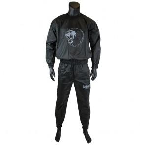Super Pro Combat Gear Trainingsanzug / Sauna Suit black/white