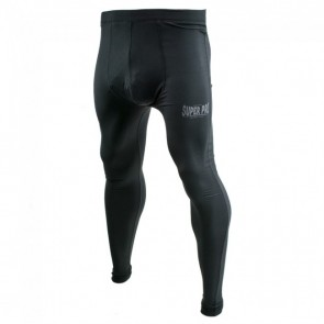 Super Pro Leggings Men Lion/Super Pro Logo black/grey