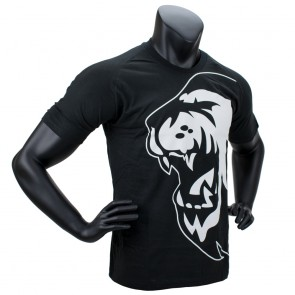 Super Pro T-Shirt Lion Logo black/white