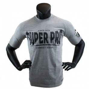 Super Pro T-Shirt S.P. Logo grey/black