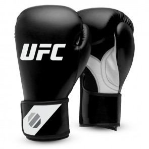 UFC Fitness Training Glove blk/white/silver