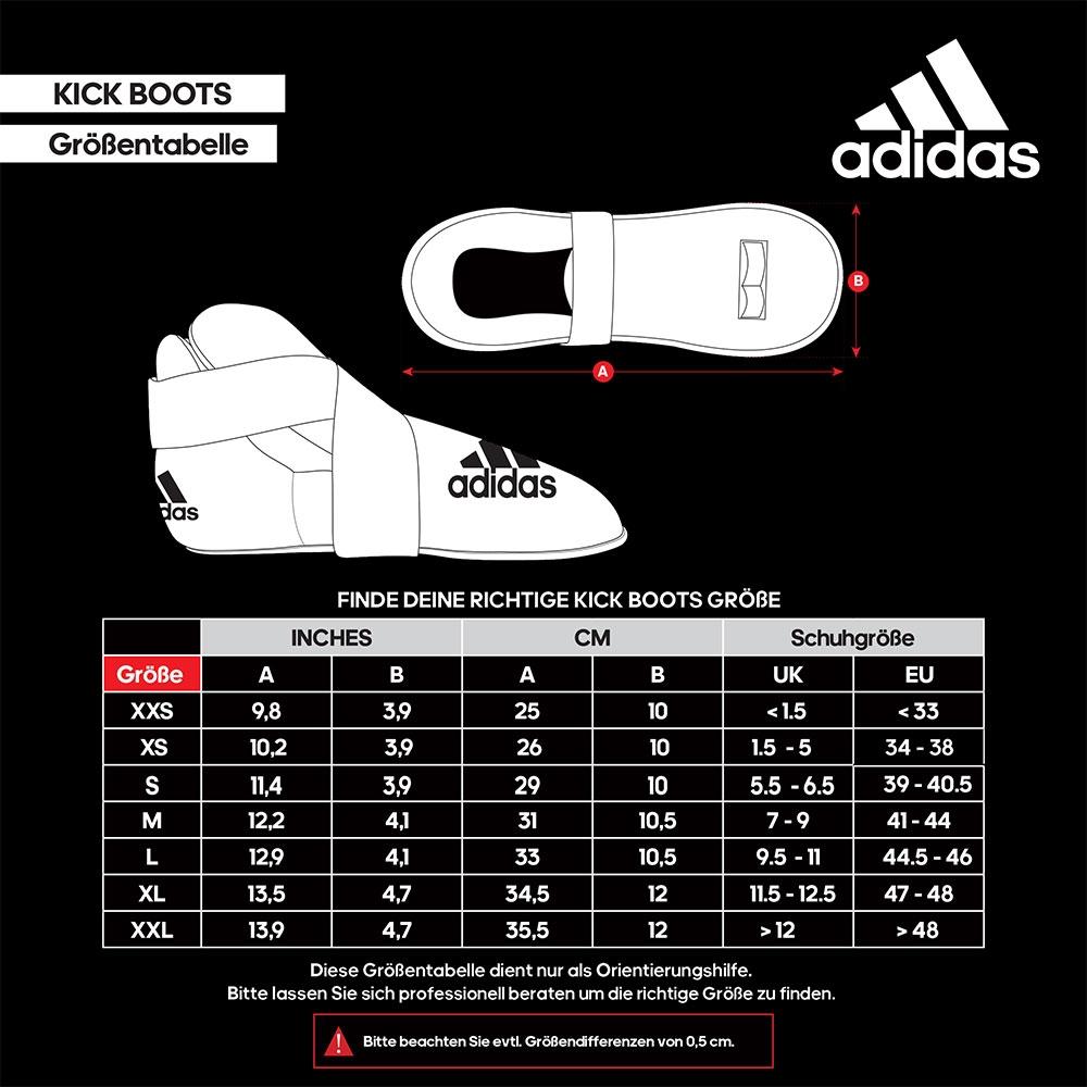 size helper adidas Kick Boots EU